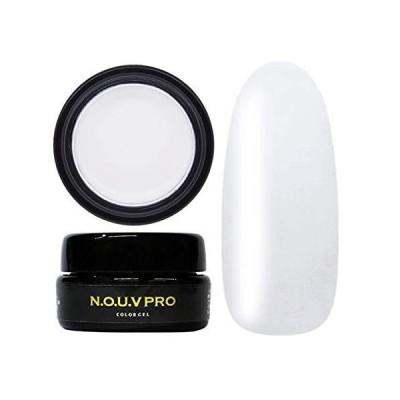 NOUVPRO(ノーブプロ)カラージェルネイル 4g 日本製 化粧品登録 (OP01 ホワイト)