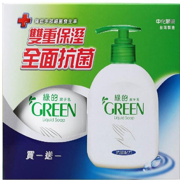 綠的潔手乳1+1(220ml+220ml)