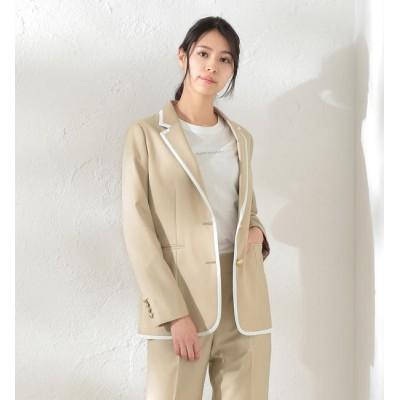 【ラブレス/LOVELESS】 【LOVELESS×otona MUSE】WOMEN リネンライクパイピングジャケット