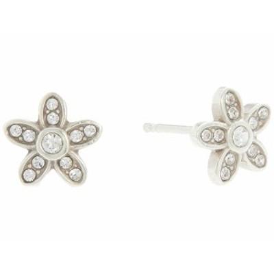 ブライトン レディース ピアス&イヤリング アクセサリー Baroness Fiori Mini Post Earrings Crystal