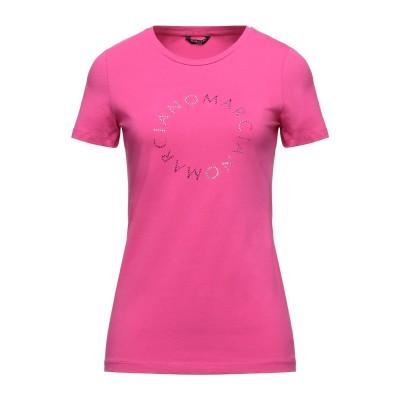 MARCIANO T シャツ フューシャ XXS コットン 95% / ポリウレタン 5% T シャツ