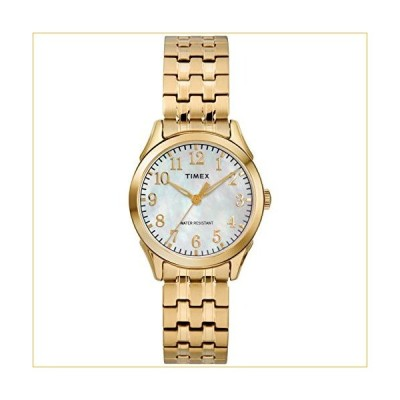 Timex Women's TW2R48500 Briarwood Gold-Tone/MOP Stainless Steel Expansion Band Watch 並行輸入品