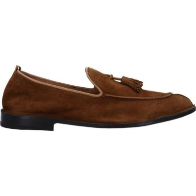 カルピエッレ CALPIERRE メンズ ローファー シューズ・靴 loafers Brown