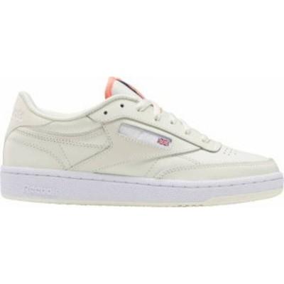 リーボック レディース スニーカー シューズ Reebok Women's Club C 85 Shoes White/Coral