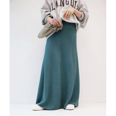 【プラージュ/Plage】 【JANE SMITH/ジェーンスミス】 FLARE RIB KNIT スカート◆