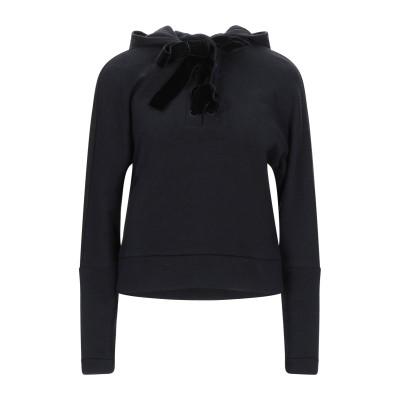 エンポリオ アルマーニ EMPORIO ARMANI スウェットシャツ ブラック 40 コットン 86% / ウール 14% スウェットシャツ