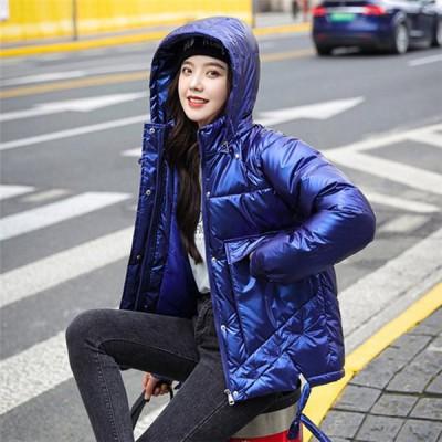 中綿ジャケット レディース フード付き 可愛い 冬 防寒 防風