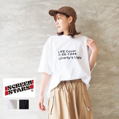 スクリーンスターズ SCREEN STARS Tシャツ ゆったり 大きめ LIFE LIBERTY'S LIGHT 2021SSLF-8 半袖