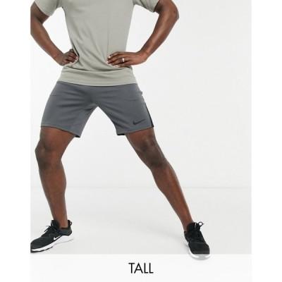 ナイキ Nike Training メンズ ショートパンツ ボトムス・パンツ Tall Dry Shorts In Grey グレー