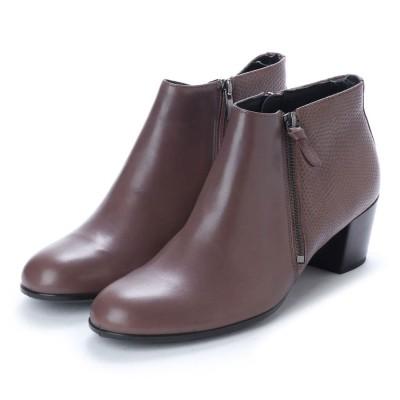 エコー ECCO Shape M 35 Ankle Boot (DEEP TAUPE/DEEP TAUPE)