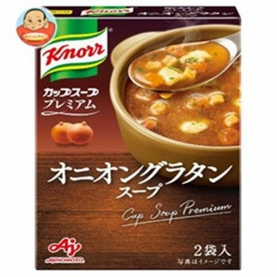 送料無料 味の素 クノールカップスープ プレミアム オニオングラタンスープ (14.7g×2袋)×10箱入