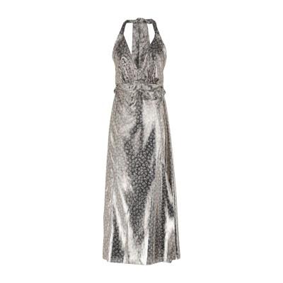 OPALINE ロングワンピース&ドレス ゴールド S PES - ポリエーテルサルフォン 100% ロングワンピース&ドレス