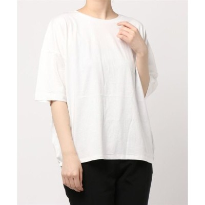 tシャツ Tシャツ バックギャザー半袖カットプルオーバー *
