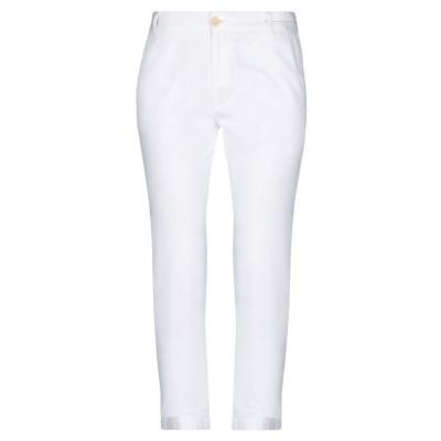 カレントエリオット CURRENT/ELLIOTT パンツ ホワイト 25 コットン 100% パンツ