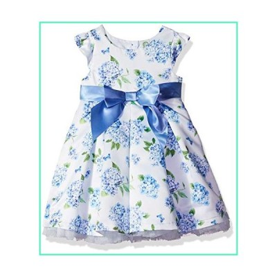 Little Me Girls' Toddler Special Occasion Dress, Blue, 4T並行輸入品