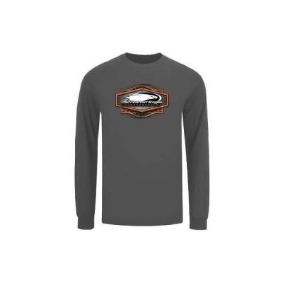Tシャツ ハーレーダビッドソン Harley-Davidson Mens Screamin' Eagle Rivet Long Sleeve Shirt, Gray HARLMT0292