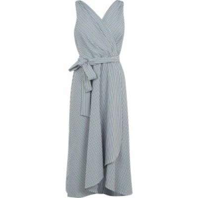 ディーケーエヌワイ DKNY Occasion レディース ワンピース ラップドレス ワンピース・ドレス Faux Wrap Dress Apple Stripe