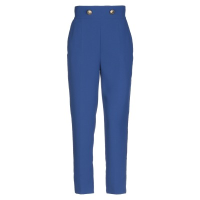 ELISABETTA FRANCHI パンツ ブルー 42 ポリエステル 100% パンツ