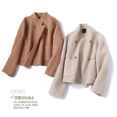 ウールコート 暖かい 上品 洋服  オシャレ レディースコート  チェスターコート 暖かい 上品 洋服 オーバーコート 通勤 ファション    防寒