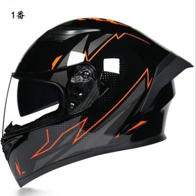 新入荷 5色選択可 バイクヘルメット ダブルシールド フルフェイス UVカット サイズM-XXL選択可