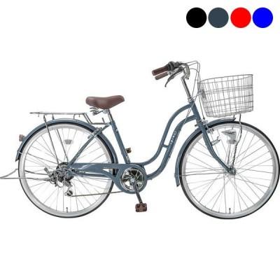 自転車 シティ車 スプラウトF サイクルスポットオリジナル 6段変速