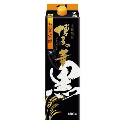 福徳長 博多の華 むぎ 黒麹 25% 1800ml×6本(1ケース)