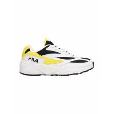 Fila メンズスニーカー Fila Leather And Mesh 94 White Sneakers White