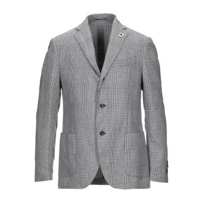 ラルディーニ LARDINI テーラードジャケット ダークブルー 50 ポリエステル 50% / アセテート 50% テーラードジャケット