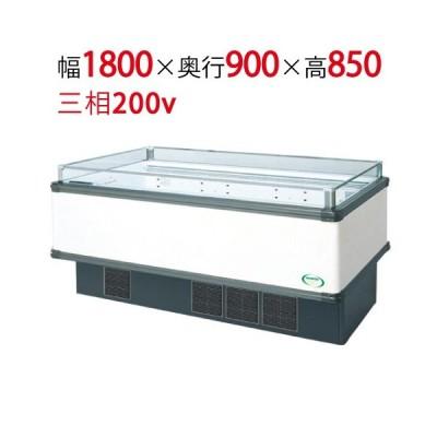 業務用アイランドタイプショーケース IMC-65QGFTAX 幅1800×奥行900×高さ850/フクシマ/送料無料