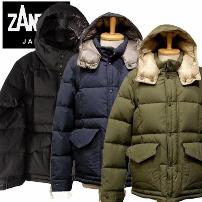 ZANTER JAPAN ザンタージャパン ダウンジャケット 南極観測隊 メンズ ZANTER JAPAN 6710 DOWN PARKA VINTAGE 10月-11月発売先行予約