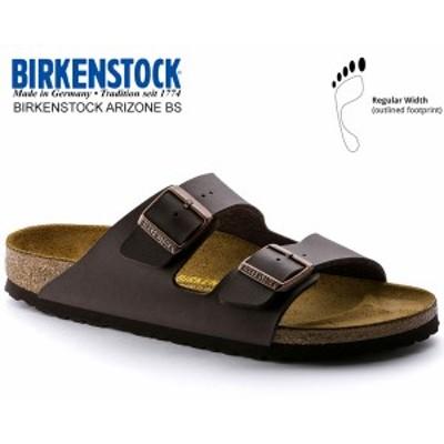 【ビルケンシュトック アリゾナ BS】BIRKENSTOCK ARIZONA BS(REGULAR FIT) DARK BROWN 0051701 ダークブラウン レザーサンダル ダブルス