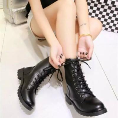 送料無料 ブーツ おしゃれ カジュアル マーチンブーツ ミリタリー 合わせやすい 歩きやすい 靴