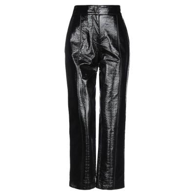 エムエスジーエム MSGM パンツ ブラック 38 コットン 50% / ポリウレタン 50% パンツ