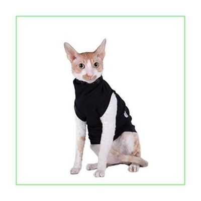 Kotomoda cat wear Turtleneck Extended in Black (XL) 並行輸入品