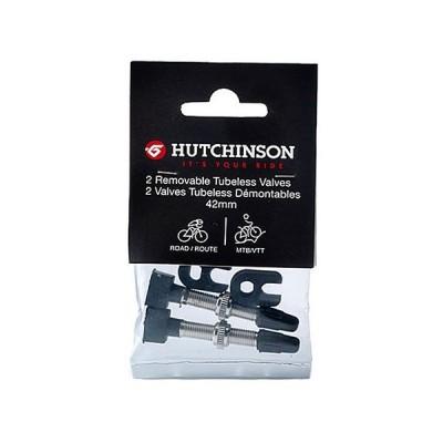HUTCHINSON ハッチンソン チューブレスバルブ 2本セット