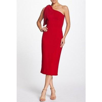 ドレスザポプレーション レディース ワンピース トップス Tiffany One Shoulder Midi Sheath Dress