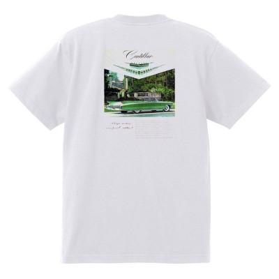 アドバタイジング キャデラック Tシャツ 白 968 黒地へ変更可 1960 オールディーズ ロック 1950's 1960's ロカビリー ローライダー