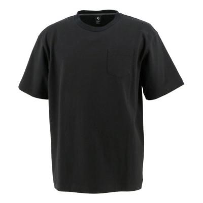 メール便OK CONVERSE(コンバース) CA201372 クルーネック Tシャツ 胸ポケット アスレチック アクティブウェア