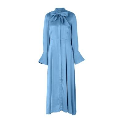 IVY & OAK ロングワンピース&ドレス パステルブルー 36 レーヨン 100% ロングワンピース&ドレス