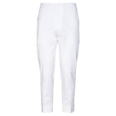 GAZZARRINI パンツ ホワイト 44 コットン 98% / ポリウレタン 2% パンツ