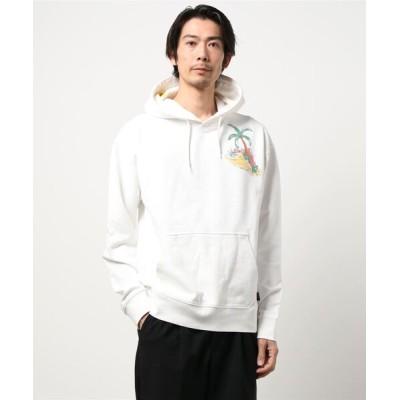 DONOBAN / 【SCOTCH & SODA】Artwork relaxed organic cotton felpa hoodie MEN トップス > パーカー