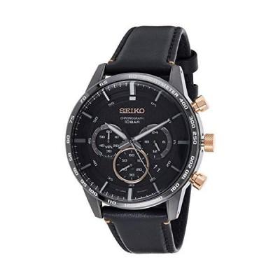 [セイコ-] SEIKO 腕時計 クロノグラフ クォ-ツ SSB361P1 Quartz Watch 50th Anniversary ブラック メン