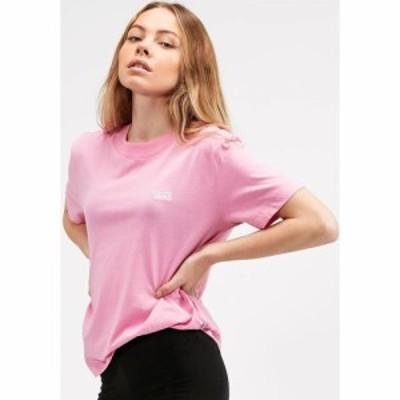 ヴァンズ Vans レディース Tシャツ トップス Boxy T-Shirt Fuchsia Pink