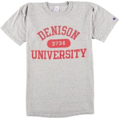 80年代 チャンピオン トリコタグ カレッジTシャツ L /eaa051282