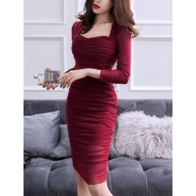 ドレス キャバ ドレス 激安 キャバドレス ミニ 長袖 キャバ 嬢 ドレス 韓国 パーティードレス パーティドレス 個性的 jm4071