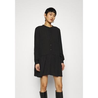 カフェ ワンピース レディース トップス KALOKIALA TUNIC - Day dress - black deep