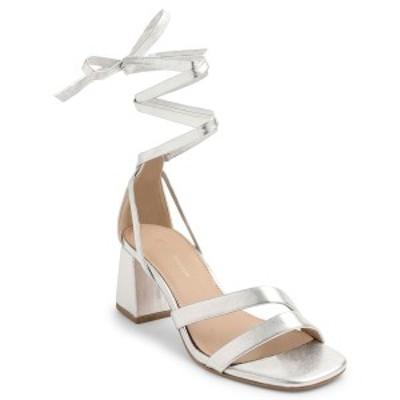 BCBジェネレーション レディース サンダル シューズ Deena Lace Up Dress Sandals Silver