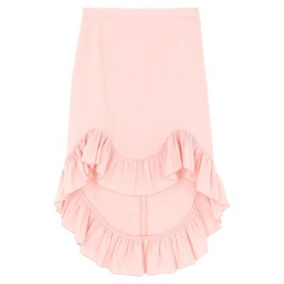 ブルーガール ブルマリン BLUGIRL BLUMARINE 7分丈スカート ピンク 44 コットン 97% / ポリウレタン 3% 7分丈スカート