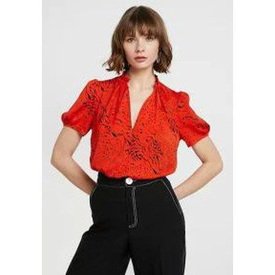River Island レディーストップス River Island Blouse - red print red
