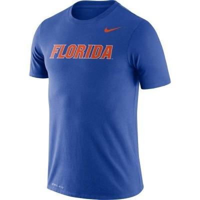 ナイキ メンズ Tシャツ トップス Nike Men's Florida Gators Blue Dri-FIT Legend Word T-Shirt
